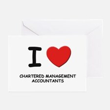 I love chartered management accountants Greeting C