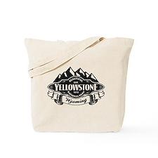 Yellowstone Mountain Emblem Tote Bag