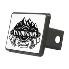 Yellowstone Mountain Emblem Hitch Cover