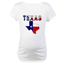 Flag Map With Texas Shirt