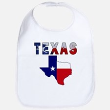 Flag Map With Texas Bib