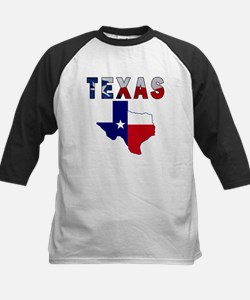 Flag Map With Texas Tee
