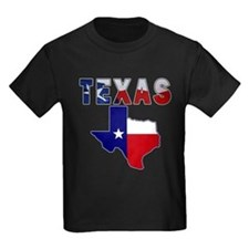 Flag Map With Texas T