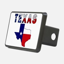Flag Map With Texas Hitch Cover