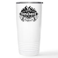 Yosemite Mountain Emblem Travel Mug