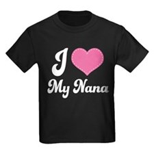 I Heart My Nana T-Shirt