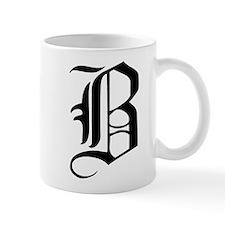 Gothic Initial B Mug