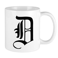 Gothic Initial D Mug