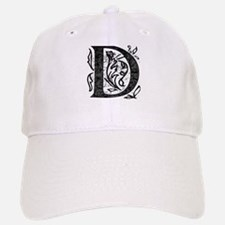 Fancy Monogram D Baseball Baseball Cap
