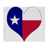 I love texas Fleece Blankets