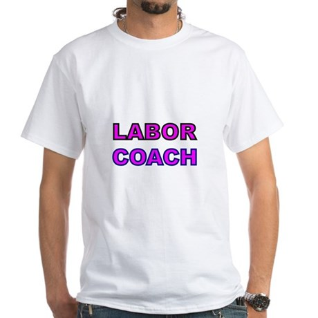 Labor Coach-pink T-Shirt