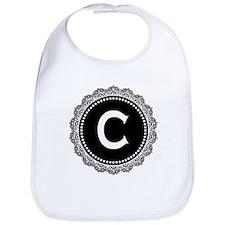 Monogram Medallion C Bib