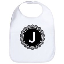 Monogram Medallion J Bib