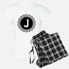 Monogram Medallion J Pajamas