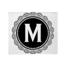 Monogram Medallion M Throw Blanket
