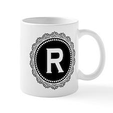 Monogram Medallion R Mug