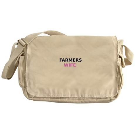 Farmers Wife Messenger Bag