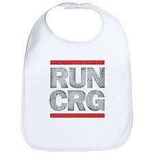 RUN CRG (cracked text) Bib