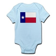 Texas Lone Star Flag Infant Bodysuit