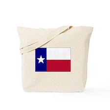 Texas Lone Star Flag Tote Bag