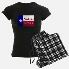 Native Texan Lone Star Flag Pajamas
