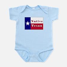 Native Texan Lone Star Flag Infant Bodysuit