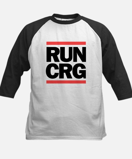 RUN CRG (black text) Kids Baseball Jersey