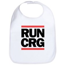RUN CRG (black text) Bib