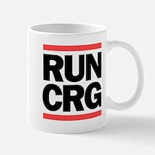 RUN CRG (black text) Mug