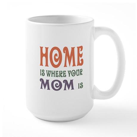 Home is Where Mom is Large Mug
