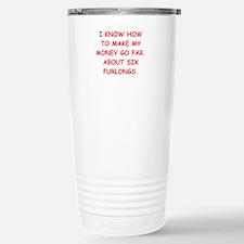 HORSERACING Travel Mug