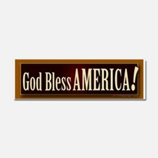 God Bless America! Car Magnet 10 x 3