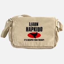 Hapkido silhouette designs Messenger Bag