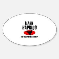 Hapkido silhouette designs Decal