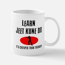 Jeet Kune Do silhouette designs Mug