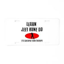 Jeet Kune Do silhouette designs Aluminum License P