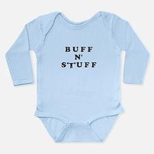 BUFF N' STUFF Long Sleeve Infant Bodysuit