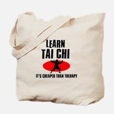 Tai Chi silhouette designs Tote Bag