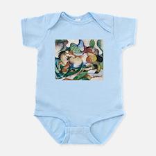 Franz Marc Springendes Pferd Infant Bodysuit