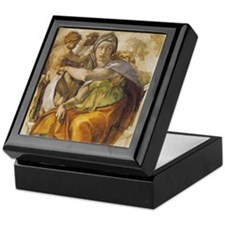 Michelangelo Delphic Sibyl Keepsake Box