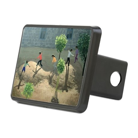 @oil on canvasA - Rectangular Hitch Cover