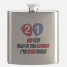 Gifts for the individual turning 21 Flask