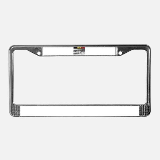 Jan Olieslagers License Plate Frame