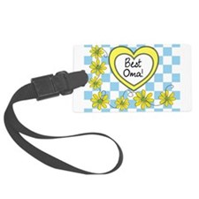 Best Oma Yellow Luggage Tag
