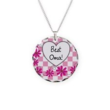 Best Oma Pink daisies Necklace