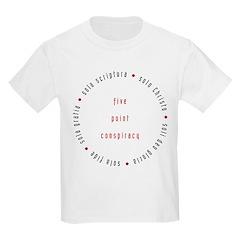 5-point conspiracy Kids T-Shirt