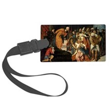 Esther before Ahasuerus, 1548 - Luggage Tag