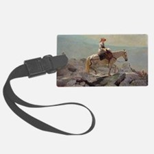 ns, 1868 @oil on canvasA - Luggage Tag