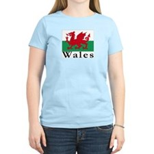 Wales Women's Pink T-Shirt