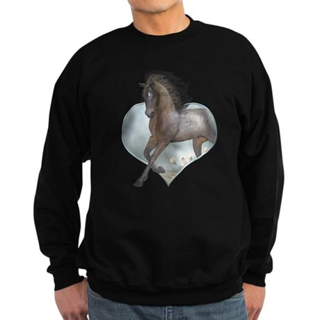 The Horse Sweatshirt (dark)